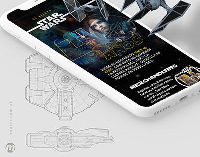 Star Wars Infografía 40 Años