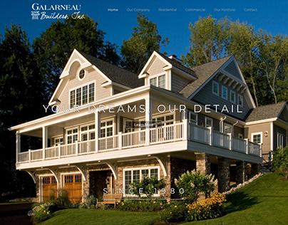 Galarneau Builders Web Design