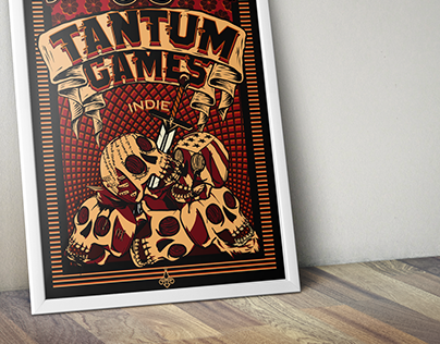 "Poster for ""Tantum Games"""