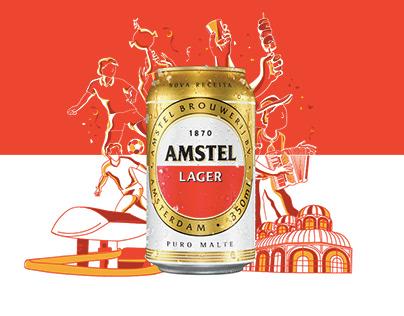 AMSTEL | PURE MALT LAUCH