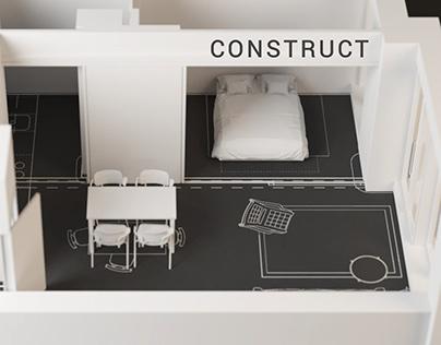 CONSTRUCT | Time-lapse CGI Animation