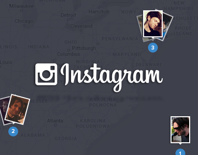 Instagram - web redesign