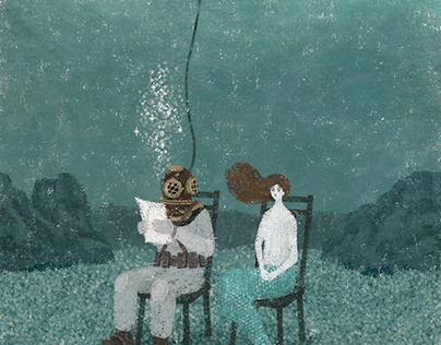 湖底の本読み