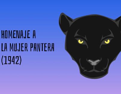 #HomenajeCineTerrorMujerPantera