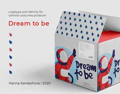 Logo and identity design Dream to be