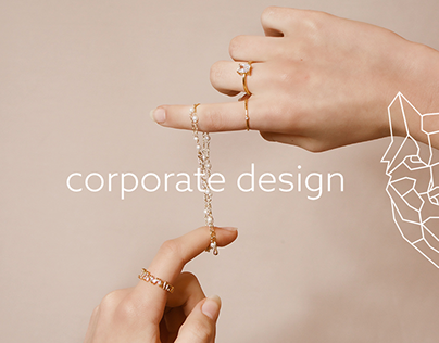 corporate design for a jewelry store - branding