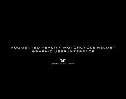 AR MOTORCYCLE HELMET GUI CONCEPT