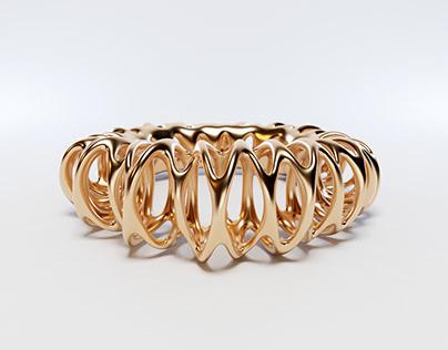 Coil Ring 3d Model