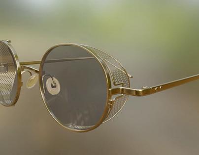 Glasses PT-01-Gold-Black