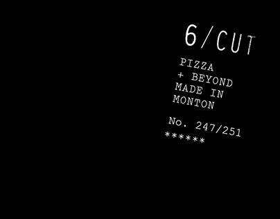 6/CUT Pizza — Identity