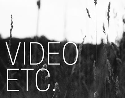 Video, etc.