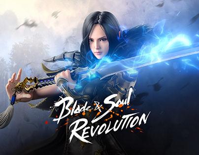 Blade&Soul Revolution - Key art