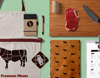 Revilos Butcher & Deli Branding