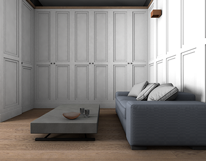 Monolocale trasformabile_3D & rendering