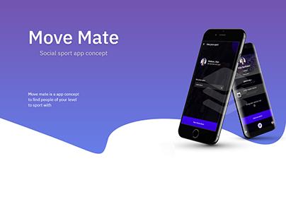 Move Mate - sports app