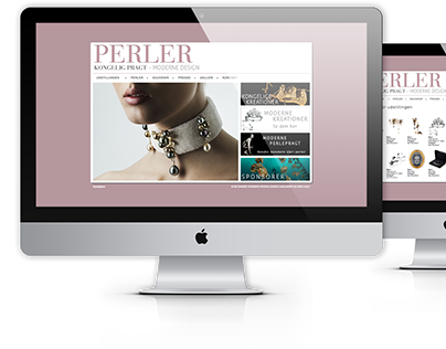 Website for the event Royal Jewellery 2011