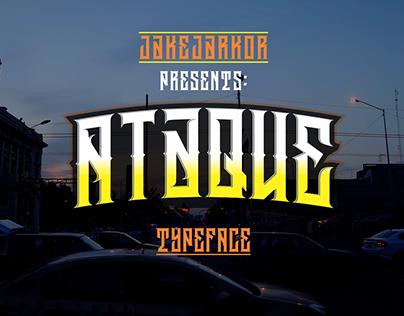 ATAQUE - TYPEFACE