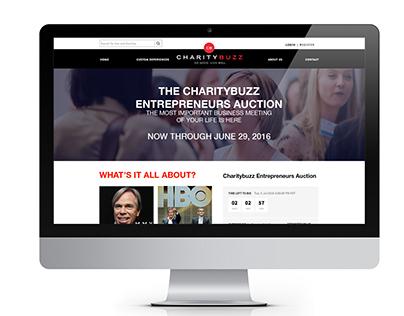 Entrepreneurs Auction Website