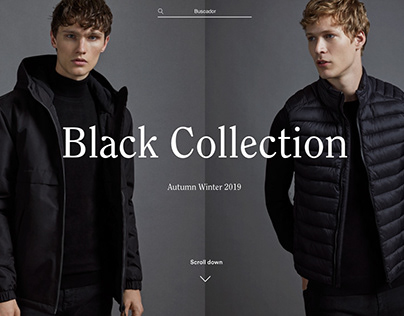 Black Collection A/W 19 - Woman&Man Lefties editorial