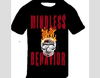 MINDLESS BEHAVIOR T-SHIRT DESIGN