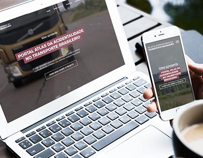 Website Responsivo - Atlas da Acidentalidade Volvo
