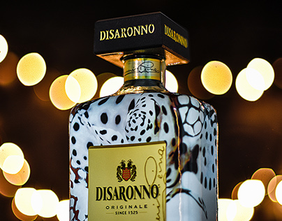 Disaronno wears Cavalli