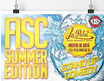 FISC SUMMER EDITION POSTERS