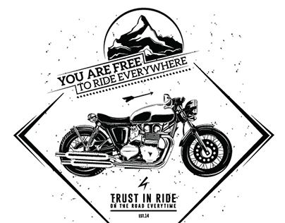 Illustration Motorcycle