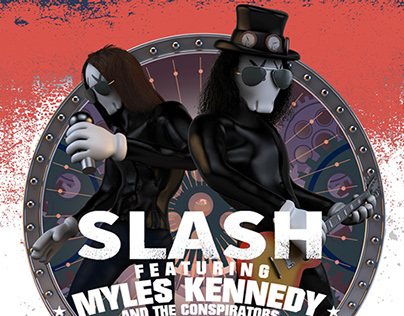 SLASH & Myles Kennedy Album Artwork
