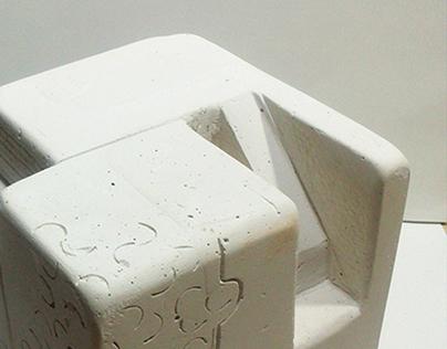 Desmaterialización del cubo