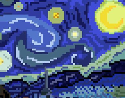 Clássicos em Pixel Art   Ilustração
