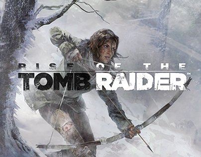 Rise of the Tomb Raider - Game box