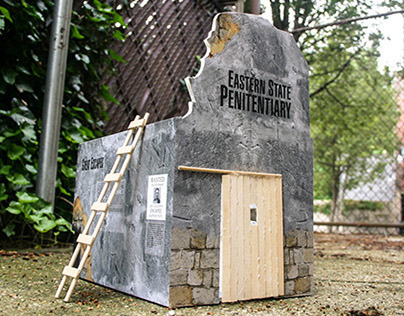 Concept: Eastern State Penitentiary Pop-Up Exhibit