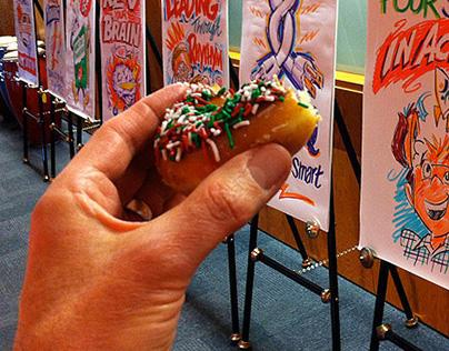 Drawing & Doughnuts