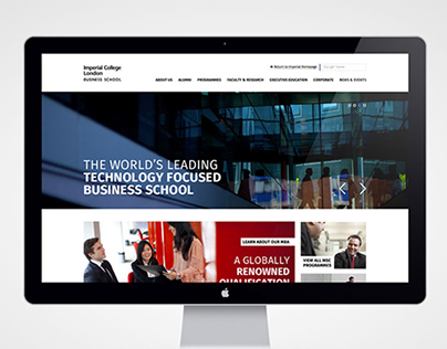 Imperial College Business School Site