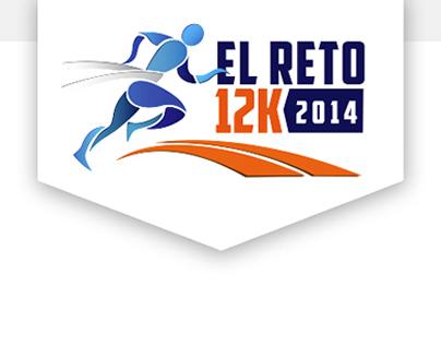 Reto 12K 2014 website