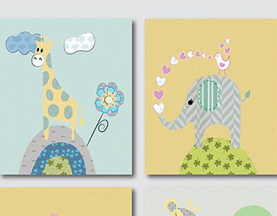 Children Vector Illustrations