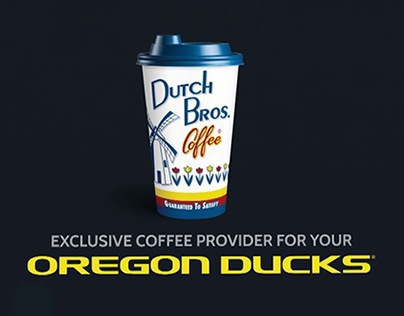 Dutch Bros. Coffee: U of O Jumbotron