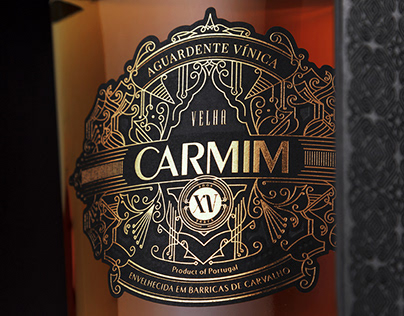 Carmim | Brandy Packaging Design