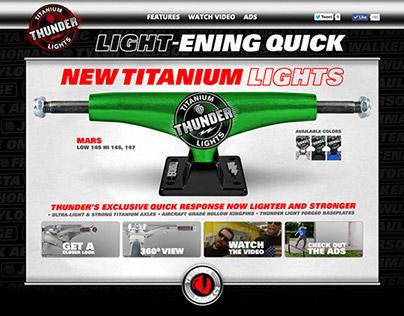 Thunder Trucks - Titanium Lights