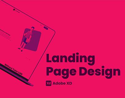 LMS   Landing Page UI