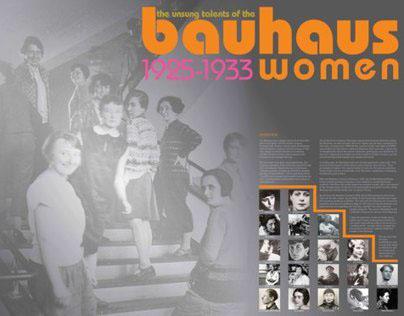 Bauhaus Women 1st Place in 2D & Graphic Design 2011