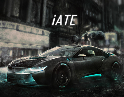 "BMW i8 - second ""Blade Runner 2"""