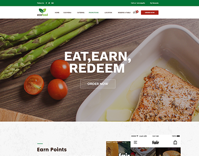 Restaurant Website UI UX