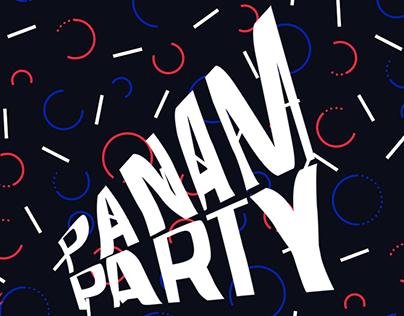 PANAM PARTY Identité visuelle
