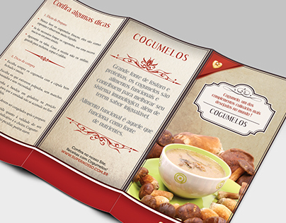 Flyer Cogumelos