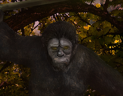 Ceasar- planet of the apes, dd