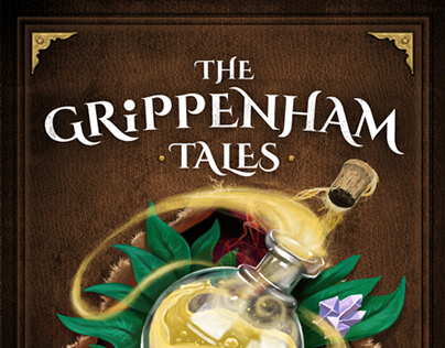 'The Grippenham Tales' - Book Cover