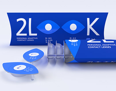 2LOOK: personal adaptive contact lenses