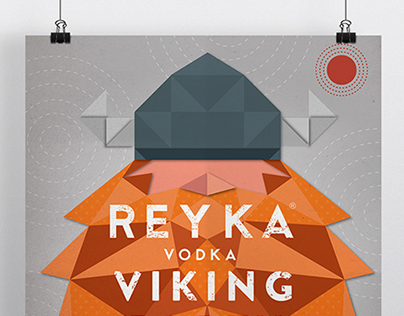 Reyka Vodka - 'Viking!' Poster
